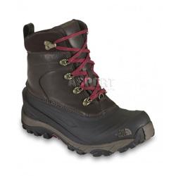 Buty trekkingowe, ocieplane, wodoodporne CHILKAT II LUXE brązowe The North Face