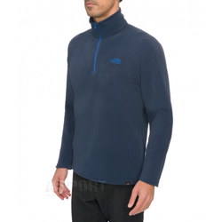 Bluza polarowa, męska 100 GLACIER 1/4 ZIP 4kolory The North Face