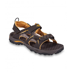 Sanda�y m�skie, sportowe HEDGEHOG SANDAL br�zowe The North Face