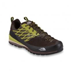 Buty trekkingowe, męskie, podeszwa Vibram® VERTO PLASMA brązowe The North Face