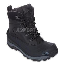 Buty trekkingowe, ocieplane, wodoodporne CHILKAT II LUXE czarne The North Face