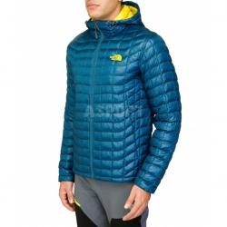 Kurtka zimowa, męska, ocieplana, z kapturem THERMOBALL The North Face