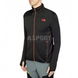 Bluza m�ska, rozpinana, polarowa podszewka KEGON STRETCH The North Face