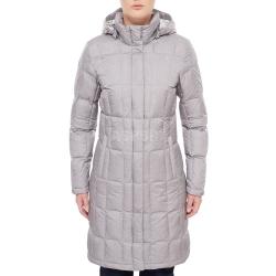 Płaszcz zimowy, damski, puchowy, z kapturem, pikowany METROPOLIS The North Face