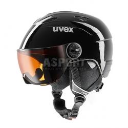 Kask narciarski, snowboardowy, dzieci�cy, z wizjerem JUNIOR VISOR Uvex