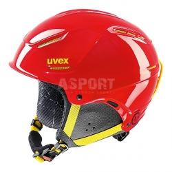 Kask narciarski, snowboardowy, dzieci�cy, m�odzie�owy P1US JUNIOR Uvex