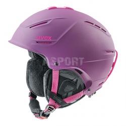 Kask narciarski, snowboardowy, damski P1US PRO WL Uvex