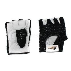 Rękawiczki treningowe, fitness, skóra naturalna, bawełna Energetic Body