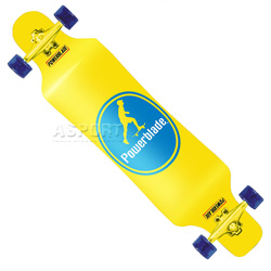 Deskorolka, longboard YELLOW BAD MONKEY Powerblade