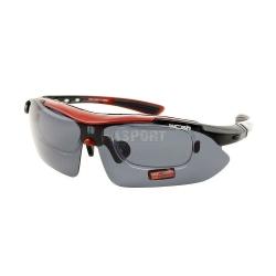 Okulary przeciws�oneczne, rowerowe, z ramk� na szk�a korekcyjne W1001 Woosh