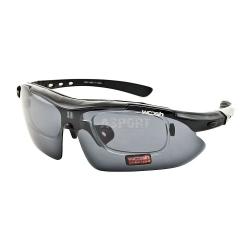 Okulary polaryzacyjne, rowerowe, z ramk� na szk�a korekcyjne W1001 Woosh