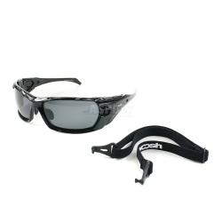 Okulary przeciws�oneczne, polaryzacyjne, filtr UV400 + pasek W1025-1 Woosh