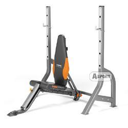 Instrukcja - Ławka olimpijska z szerokim stojakiem B300 OLS York