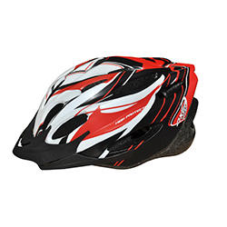 Kask ochronny, rowerowy, na rolki VOYAGER RED MAT Axer