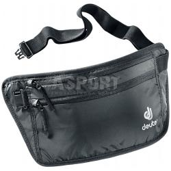 Saszetka, pas biodrowy SECURITY MONEY BELT II czarny Deuter