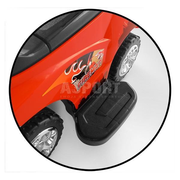 Jeździk, pchacz dziecięcy, pojazd 3w1 HAPPY czerwony Milly Mally