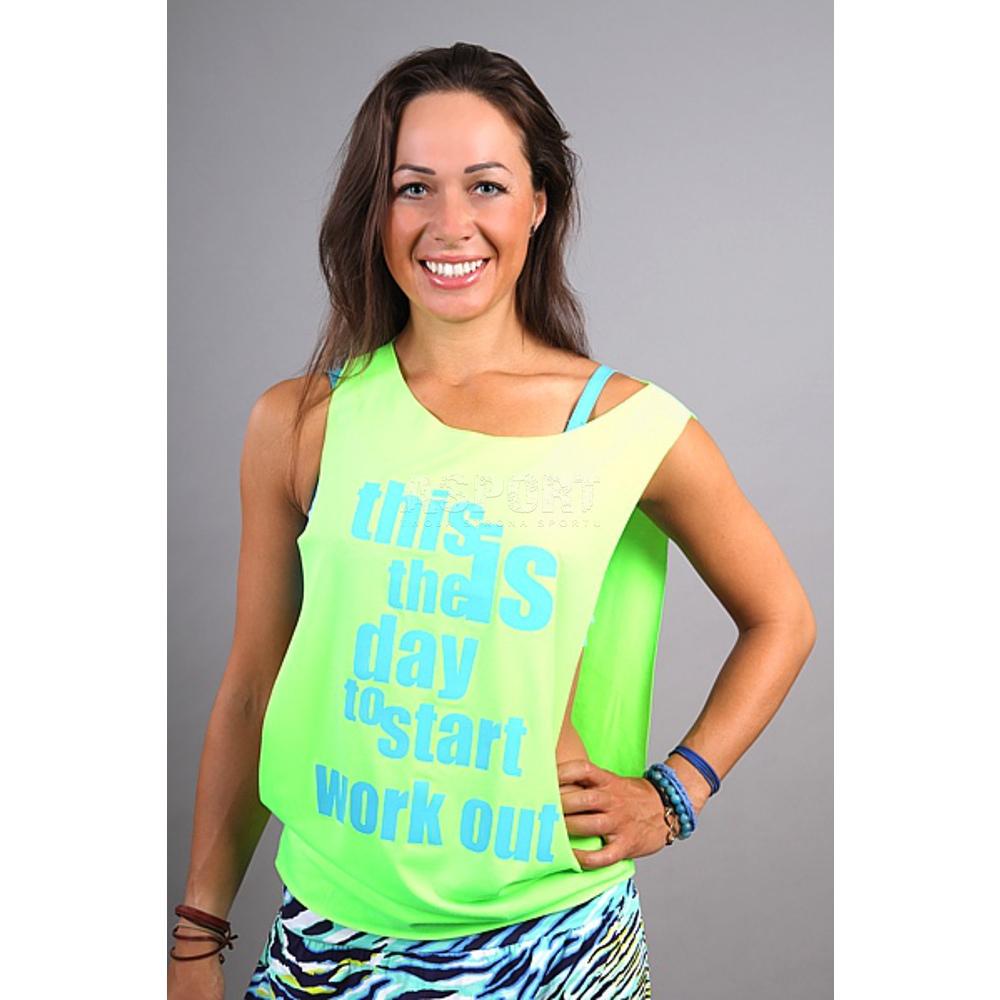 Dodatkowe Koszulka damska, narzutka, do tańca, na zumbę, fitness SUPRA 2skin JV37