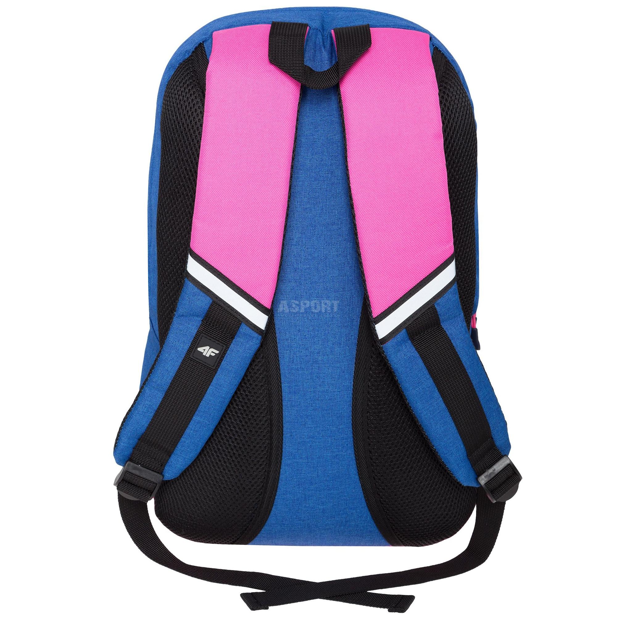 4a4d42ab5756b Plecak szkolny, miejski, sportowy 15 L H4Z18-PCU002 niebiesko-różowy ...