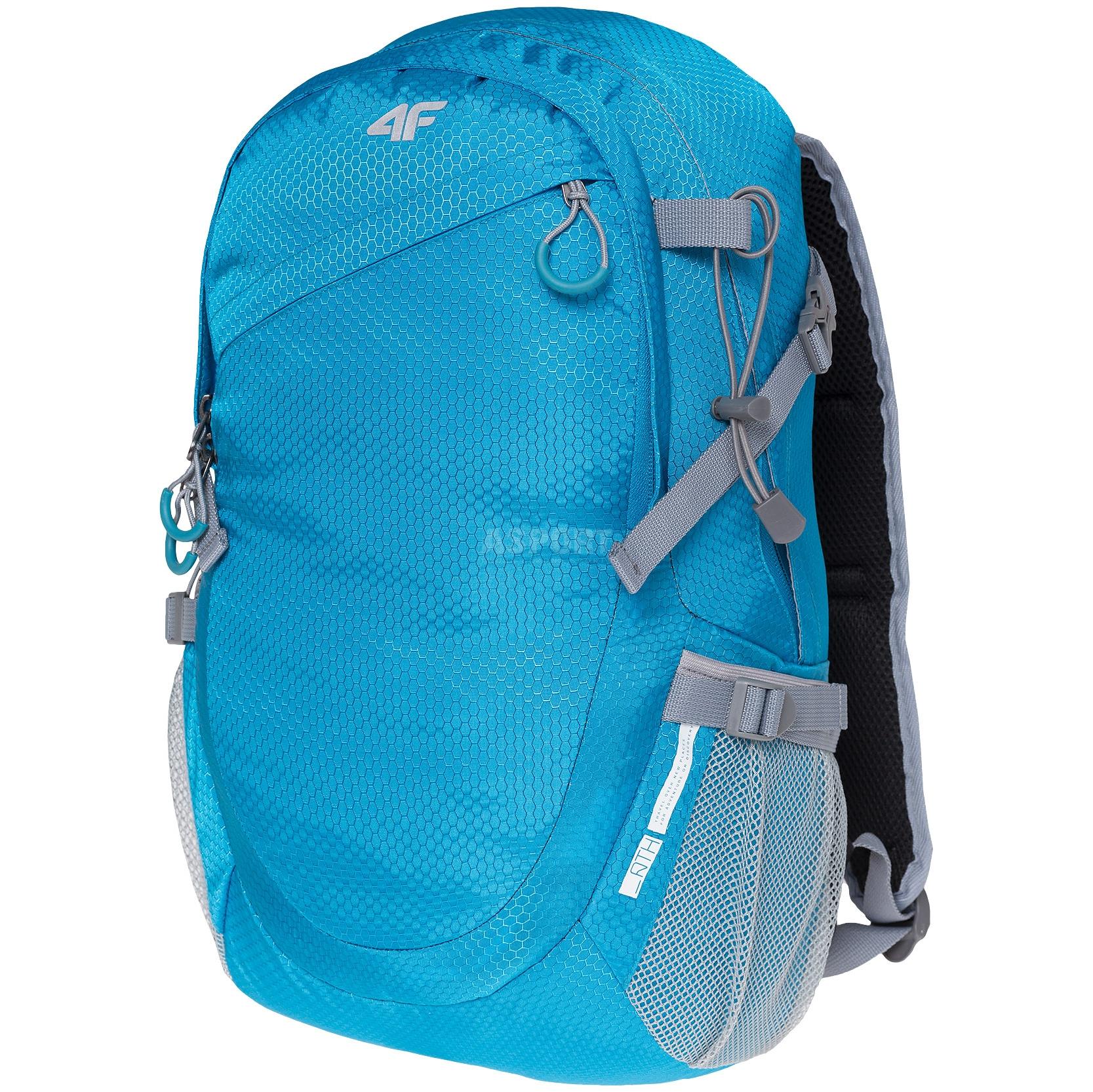 758004ad75134 Plecak miejski, sportowy, turystyczny PCU017 20l niebieski 4F ...