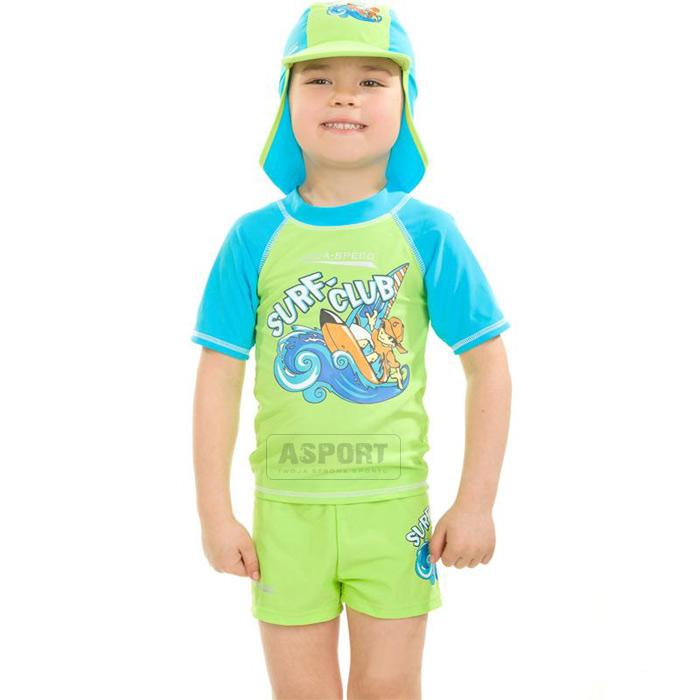 f9df588c794834 Zestaw spodenki+koszulka+czapka SURF-CLUB Aqua-Speed | Sklep Asport.pl