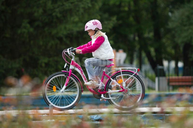 Rower dziecięcy, dziewczęcy, rama 13