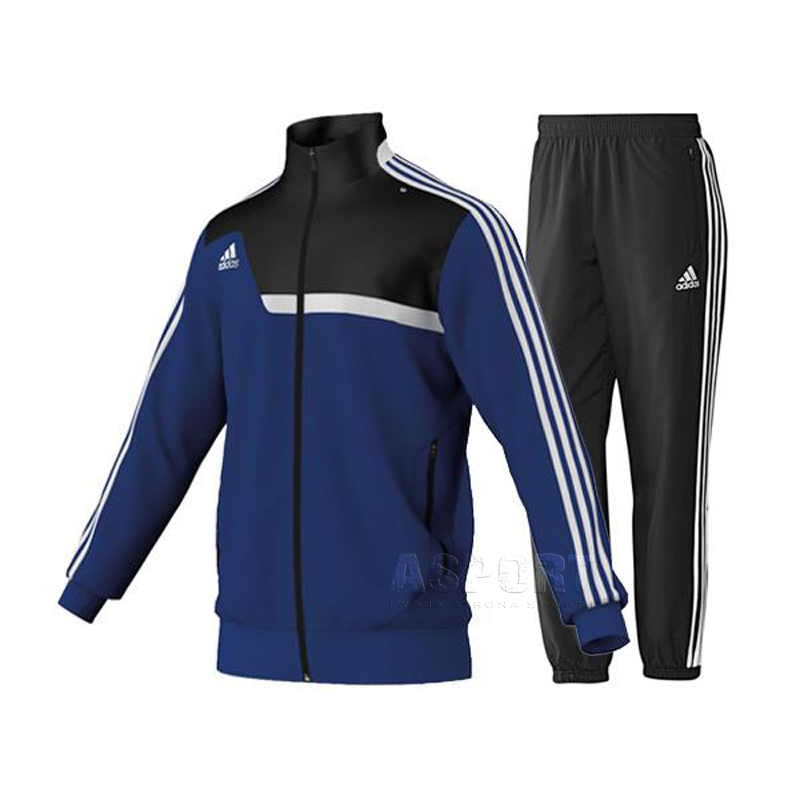 e181c063a06211 Dres sportowy, męski: bluza + spodnie TIRO 13 PES Adidas - Kolor granatowo-