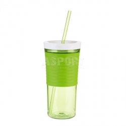 Kubek na wodę i napoje, shaker, 2w1 SHAKE&GO 540 ml zielony Contigo