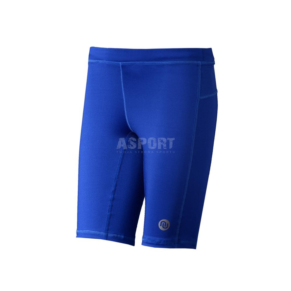 28934dfbefad8c Legginsy, getry, spodnie, męskie krótkie TOTAL Nessi - Kolor niebieski