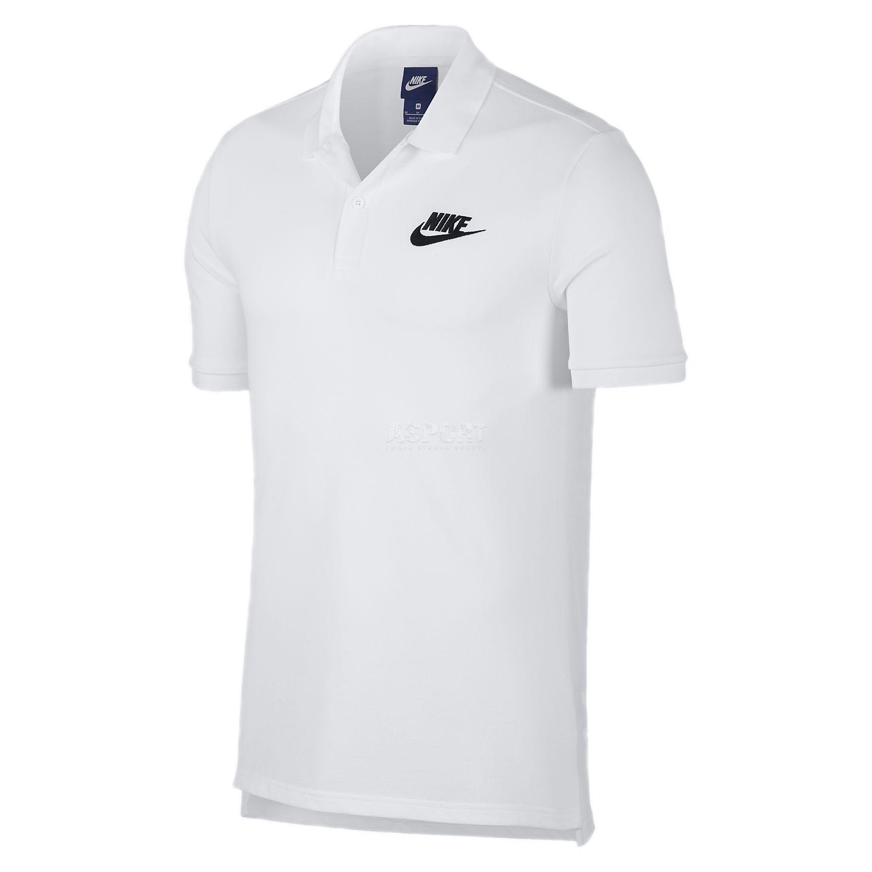 feb287236454f8 Koszulka męska polo, polówka, turystyczna, uniwersalna 909746 Nike ...