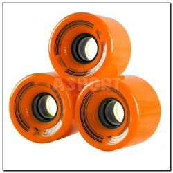 Kółka do deskorolki pennyboard 60x45mm 78A 4 szt. Nils Extreme orange