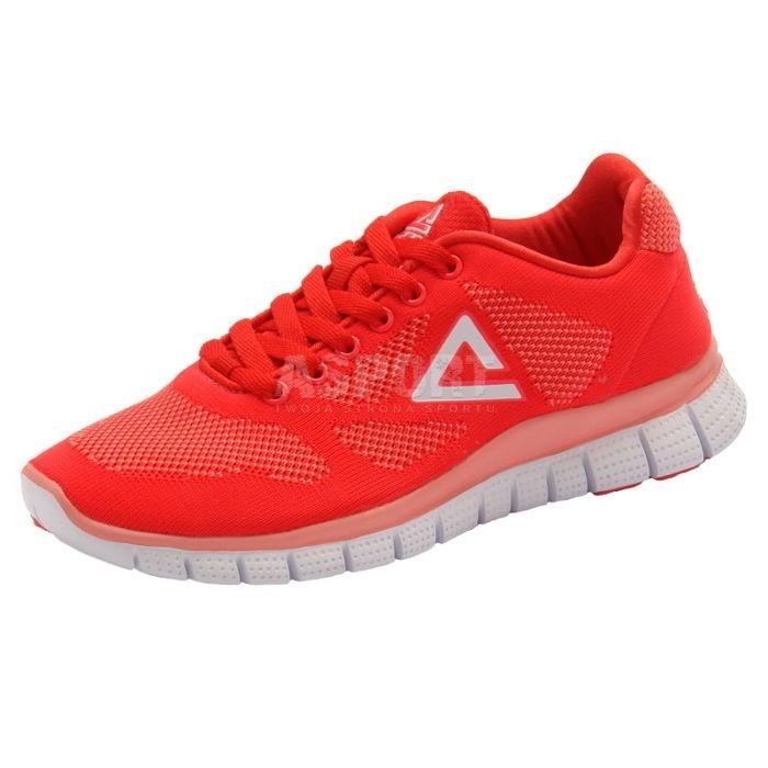 Buty do biegania, na jogging, sportowe,  damskie E41308H czerwone  sportowe,  320f8f