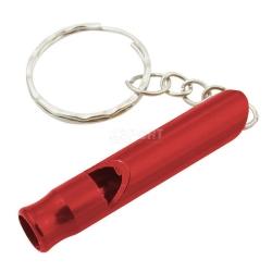 Gwizdek sygnalizacyjny, aluminiowy WHIZZ 1szt. czerwony Rockland