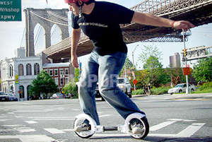 Deskorolka SKATECYCLE FREERIDER koła 9\'\'  Brooklyn Workshop