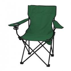 Krzesło turystyczne zielone składane dla wędkarza Sportvida