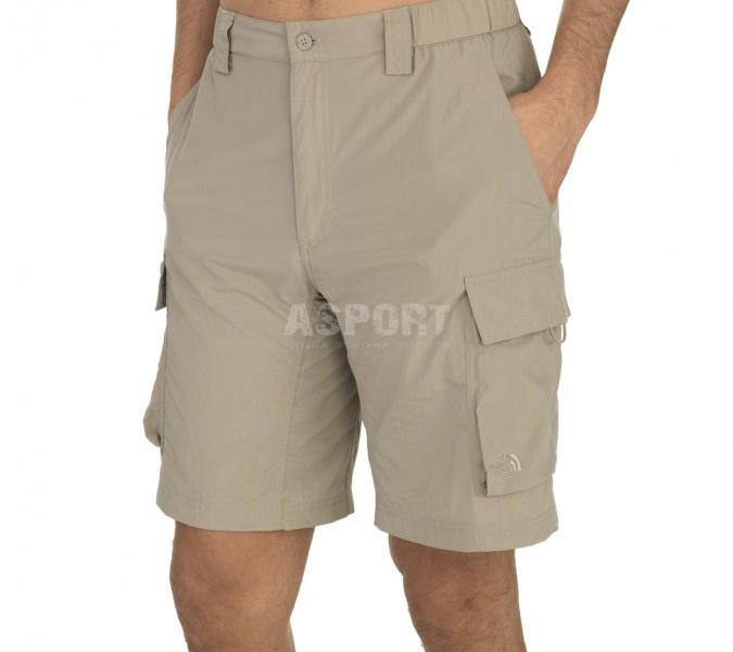 48c9a4262d87cd Spodenki męskie, szorty outdoorowe, szybkoschnące MERIDIAN CARGO The North  Face - Kolor beżowy