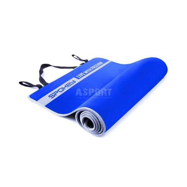 Mata do jogi, pilates, ćwiczeń, fitness 180x60x0,6cm FLEXMAT V Spokey